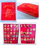 Sailormoon SuperS Kanebo Pin Collection and Book by kuroitenshi13