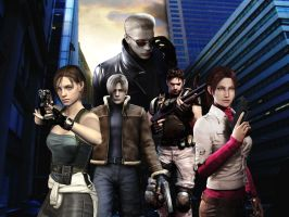 Resident evil wallpaper 12 by ethaclane