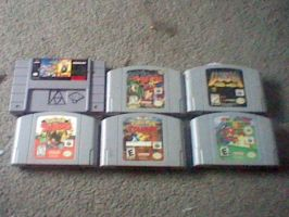 Classic Games I own by SuperShadiw1010
