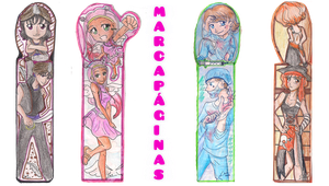 Marcapaginas - Bookmarks by Happy-every-day