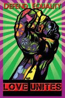 Love Unites Fist Tattoo Poster by Zaigwast