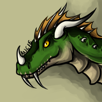 Degra Commission Headshot by Roguelucifer