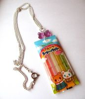 Ice Sorbet Necklace by AsianBunni