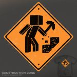Construction Zone - tee by InfinityWave