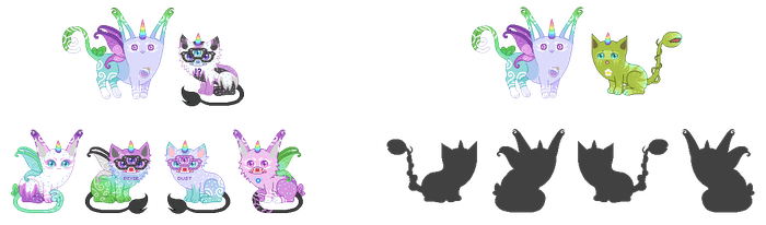 Breeding Batch With LadyoftheLIly(*2 Left*) by xavs-pixels