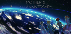 MOTHER2 21st Anniversary by Lopuii