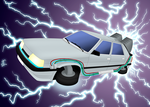 Renault 11 Delorean (No text version) by prrrk03