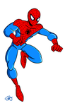 Cartoon Spidey by scootah91
