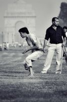 cricket (3), with india gate by dth75