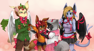 CM - Ribbon Party by mr-tiaa