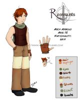 Remnants: Asch Character Sheet by Purplefire40