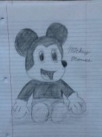 Mickey Mouse by MintFrost12