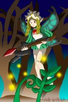 Odin Sphere -- Fairy Forest by Stareon
