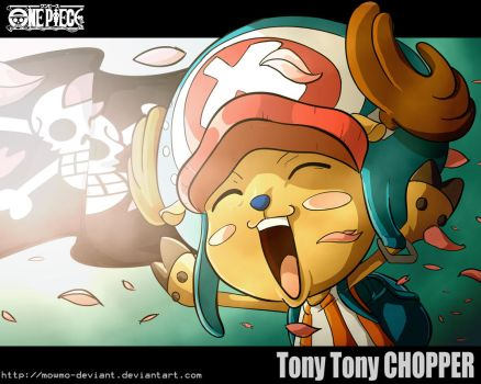 One Piece- Tony Tony Chopper by ObakeKingu