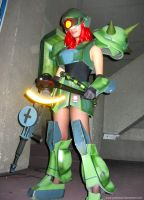 Zaku Girl 11 by polidread