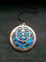 Astrolabe Pendant by jeanburgers