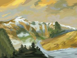 Mountainscape 2 by Phillips47