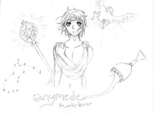 Ganymede - The Water Bearer