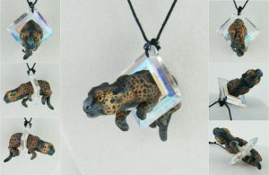 Panther Necklace by IllusionTree