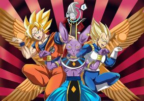 DBZ - Battle of Gods by Sabnock