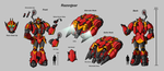 Razorgear Char Sheet Color by Laserbot