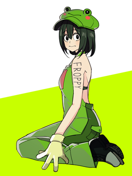 Cute Frog by Cioccolatodorima