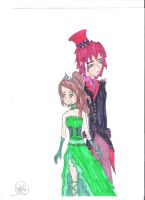 Gothic Eliza and Dan by JessicaL98000