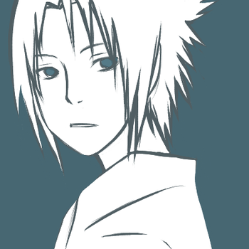 Uchiha Sasuke- Looking Back by T0X1C-RA1NB0W