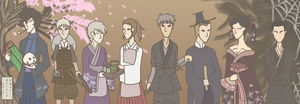 In the land of Nippon, there lived a Detective... by Mew-Mew-Mari-Shinju