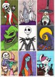 NMBC Sketch Cards by Bloodzilla-Billy