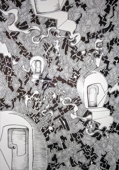 Drawing Untitled 2011 by ELoomis