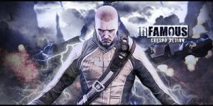 Infamous Banner by Cre5po