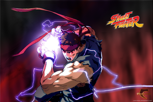 Evil Ryu by Consolous