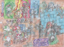 Game Derps - Castle Crashers by MorphiusX