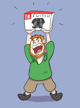 Angry Canadian gets a Switch by ManiakMonkey