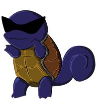 Squirtle, remade by wiklander95