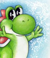 YO YO it's Yoshi by ihavenobananas