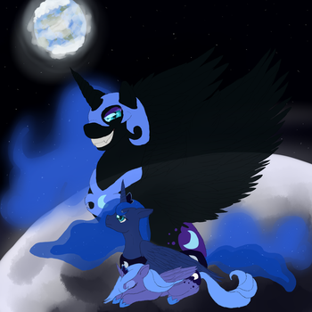'I'll See You On The Dark Side Of The Moon.' by Seiianna