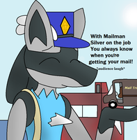 Mailman Silver by LukeTheeMewtwo