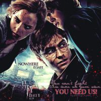 Deathly hallows fanmade poster by asweettouch