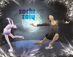 2014 OLYMPICS- Figure Skating by SillouettedArtist