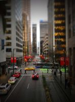 Tilt Shift Van City by jbritz22