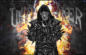 The Undertaker Signature B&W by SoulRiderGFX