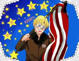 Happy Independence Day 'Merica! by Ispeakhuman
