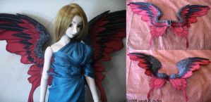 Red and Black Wings by TheMushroomPeddler