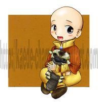 Avatar Toddlers: Aang by Kaede-chama