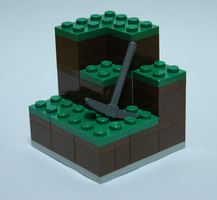 Lego Minecraft by devianthor
