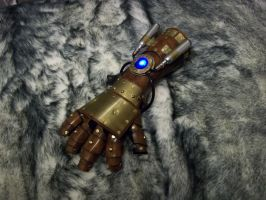 Steampunk Equalist Gauntlet by SteamViking