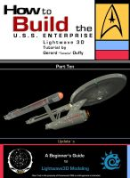 010How to Build the U.S.S. ENTERPRISE in Lightwave by gmd3d