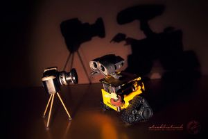 Where is the bird?- Wall.E by strehlistisch